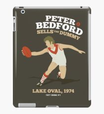 Peter Bedford, South Melbourne (for dark shirts only) iPad Case/Skin