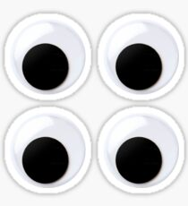 Googly Eyes – Stickers (4 Pack) Sticker