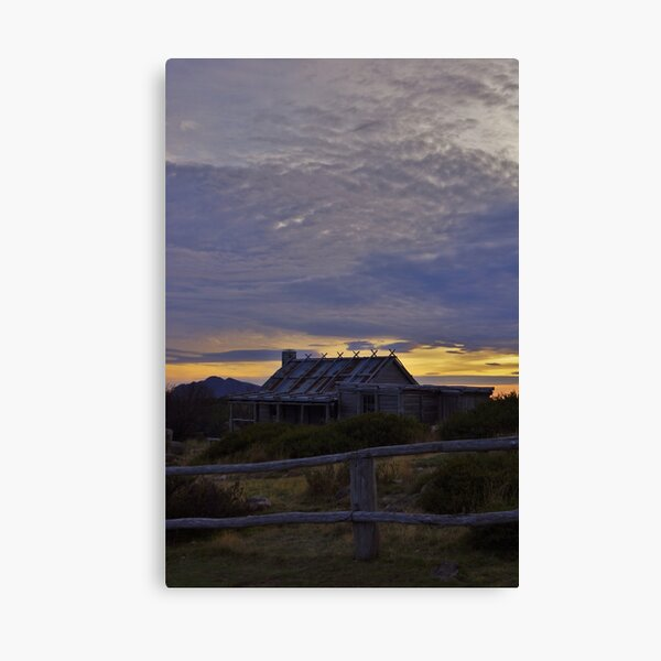 Craig's Hut - Sunrise Canvas Print