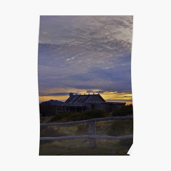 Craig's Hut - Sunrise Poster