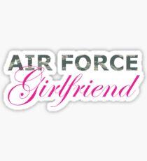 Air Force Girlfriend Sticker