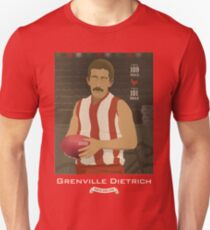 Grenville Dietrich - North Adelaide  (for red shirts only) T-Shirt