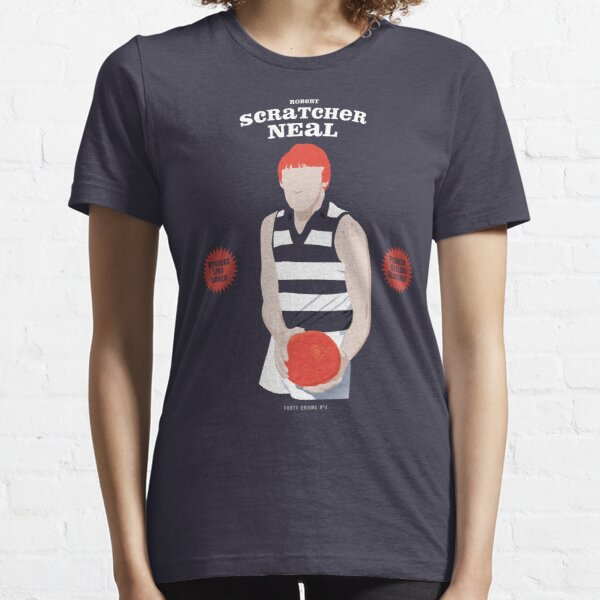 "Robert ""Scratcher"" Neal, Geelong  (for navy shirts only) Essential T-Shirt"