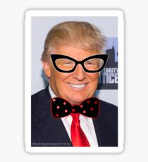 2017 Sticker Series: Trump A-La Dame Edna Everage  Sticker