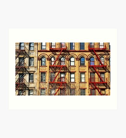 The colors of Harlem Art Print