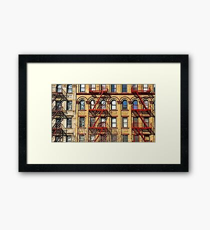 The colors of Harlem Framed Print