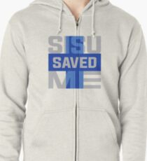 Sisu Saved Me Zipped Hoodie