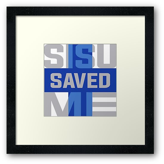 Sisu Saved Me by H. A. Ryosa