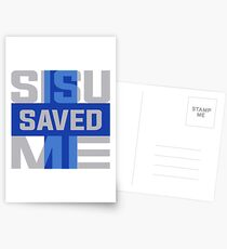 Sisu Saved Me Postcards