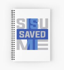 Sisu Saved Me Spiral Notebook