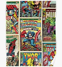 Comic Strips Poster