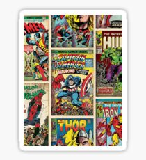 Comic Strips Sticker