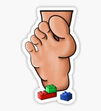 Lego Pain Sticker