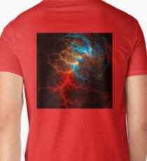 Realistic effect of electrical discharge on a black background T-Shirt