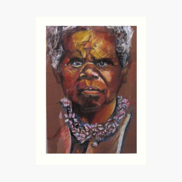 Truganini Art Print