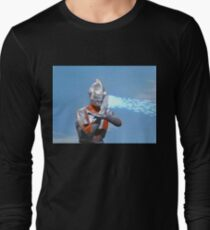 Ultraman ! Here he comes from the sky.... Long Sleeve T-Shirt