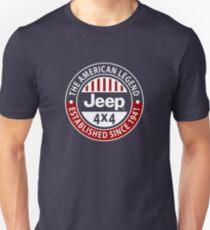 The American Legend Jeep 4x4 T-Shirt