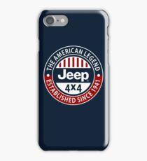 The American Legend Jeep 4x4 iPhone Case/Skin