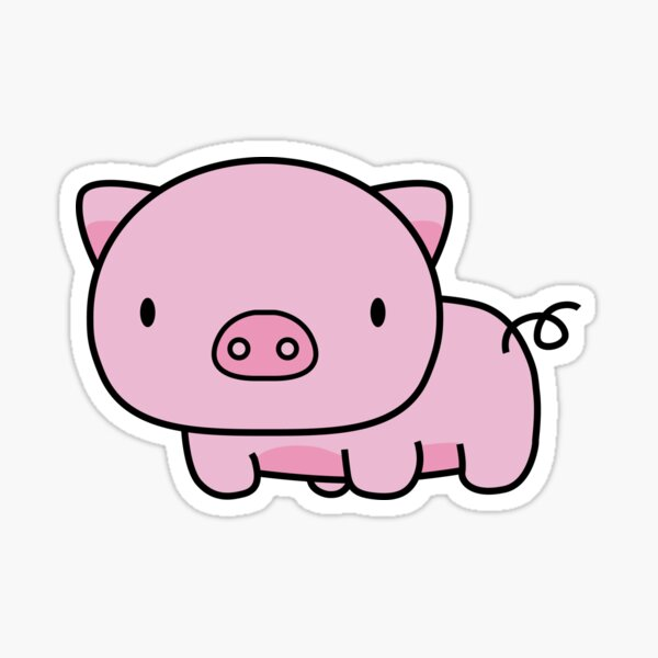 PIGU Sticker