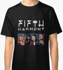 Fifth Harmony Portrait #WhiteText Classic T-Shirt