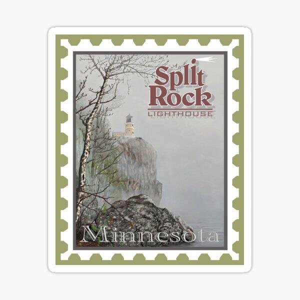 Split Rock Lighthouse Stamp Sticker