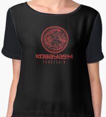 Kobayashi Porcelain Women's Chiffon Top