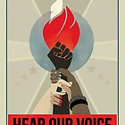 women's march on washington high resolution poster by polanpol22