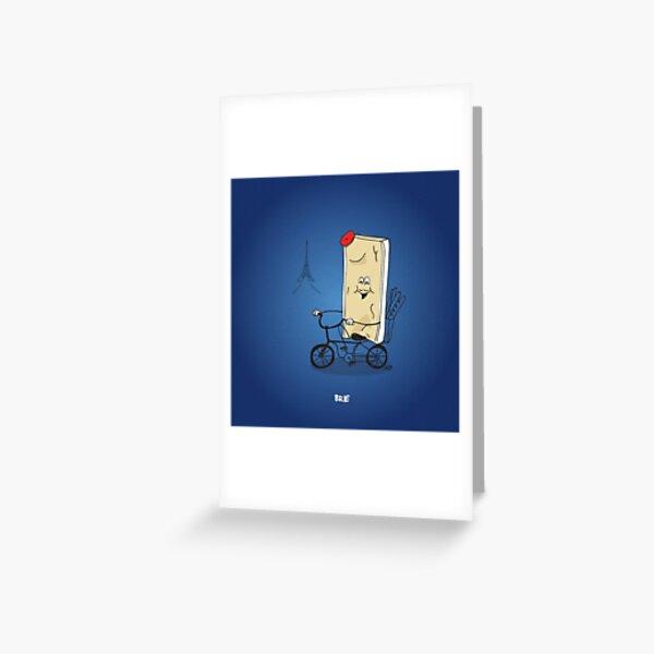 Brie Greeting Card