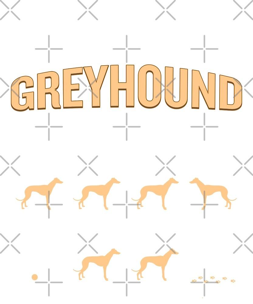 Stubborn Greyhound Tricks Funny Sarcastic Quote Training by JapaneseInkArt