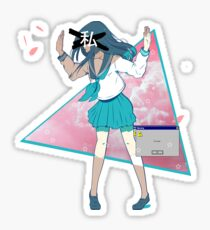 anime aesthetic stickers redbubble