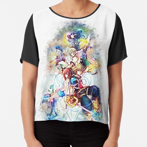 Kingdom Hearts Family Top mousseline