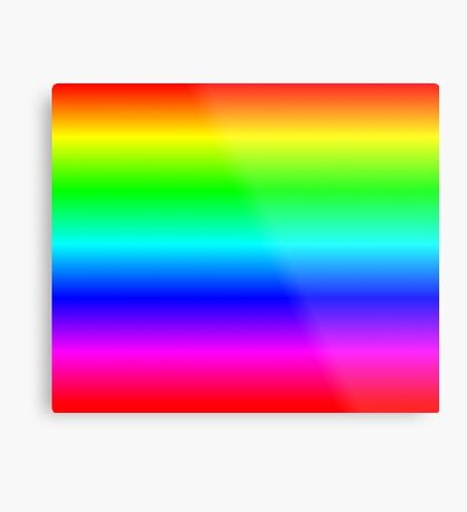 Rainbow by Processing Metal Print