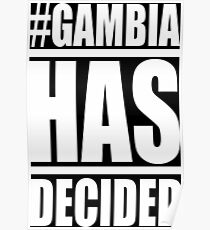 Gambia has Decided Poster