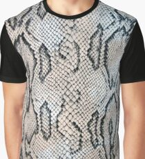 Snake Skin Graphic T-Shirt