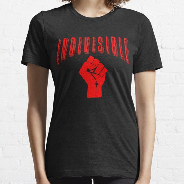 INDIVISIBLE with Fist Essential T-Shirt