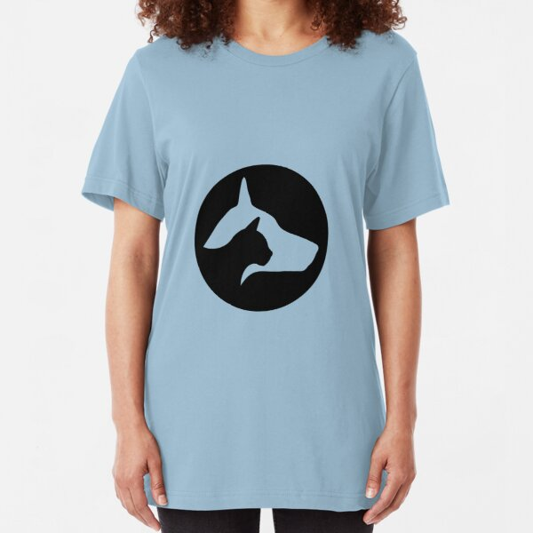 Cat & dog Slim Fit T-Shirt