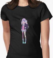 Kawaii Pastel Goth Girl #2 Women's Fitted T-Shirt