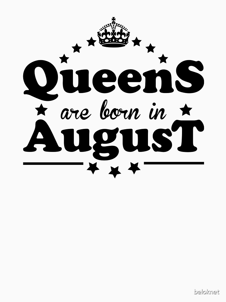 Queens are born in August by beloknet