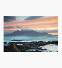 Table Mountain Photographic Print