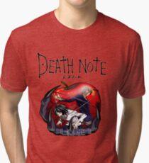 Death Note Apple Tri-blend T-Shirt