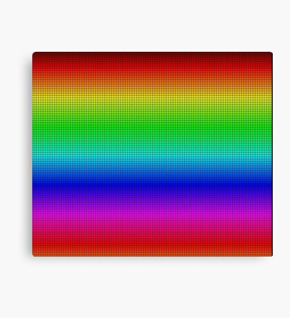 Another rainbow created with Processing Canvas Print