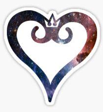 Kingdom Hearts Galaxy Sticker