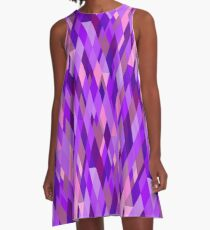 A Study in Violet A-Line Dress