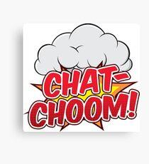 Chat-Choom! Canvas Print