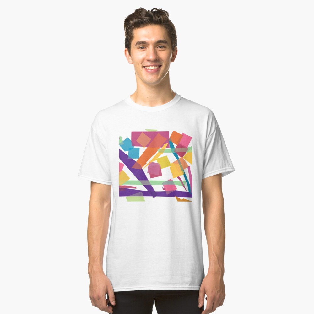 Abstract Uno Classic T-Shirt
