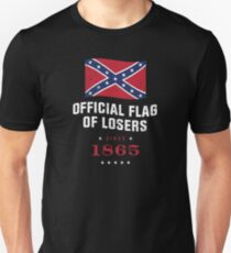Official Flag of Losers - Since 1865 T-Shirt