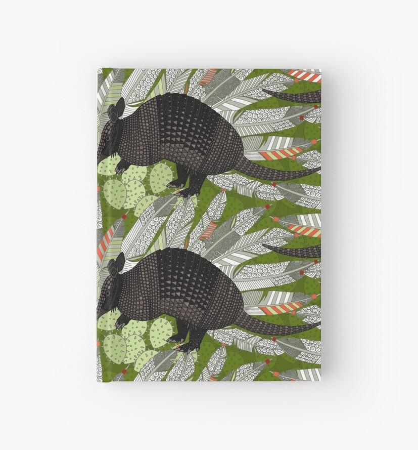 einheimische Gürteltiere grün von Sharon Turner