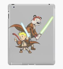 Calvin and Hobbes Star Wars Pals iPad Case/Skin