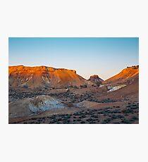 Coloured Desert Photographic Print