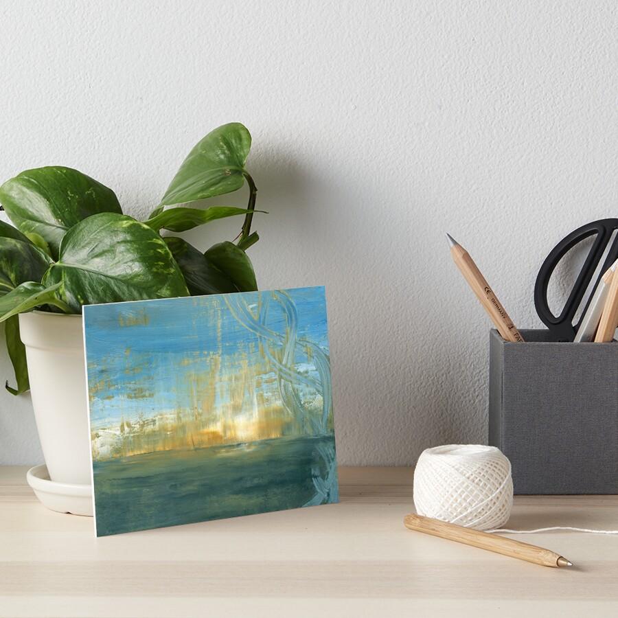 Reflections Art Board Print